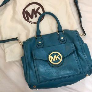Michael Kors crossbody bag teal